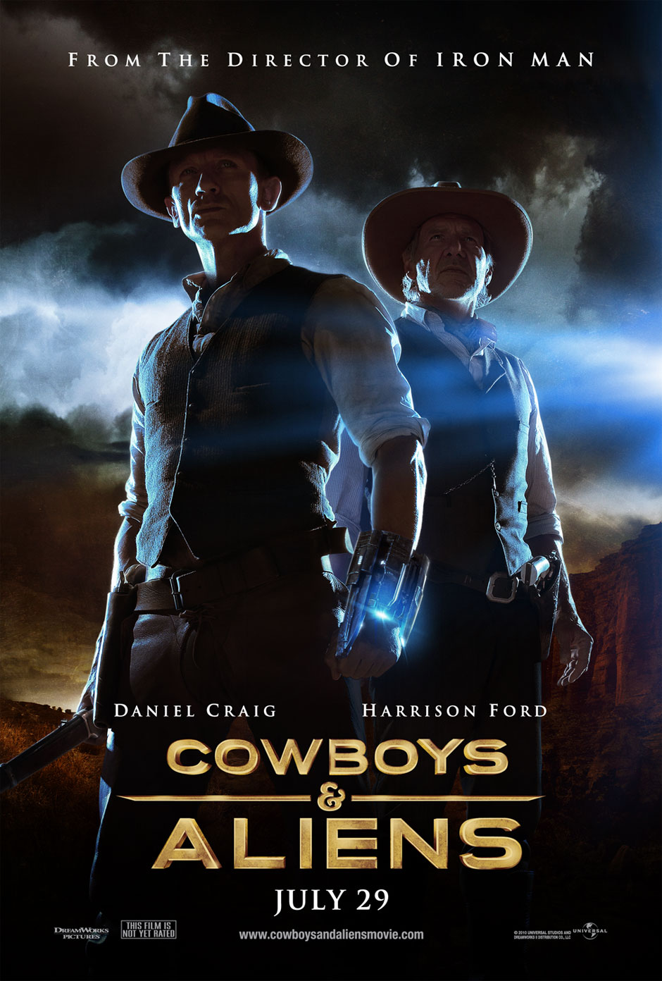Cowboys vs aliens online castellano