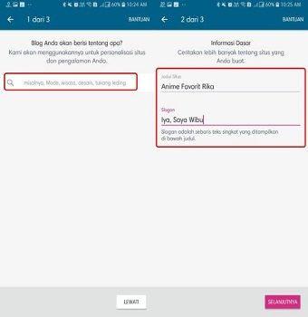 Cara Mudah Membuat Website Sendiri Dari HP