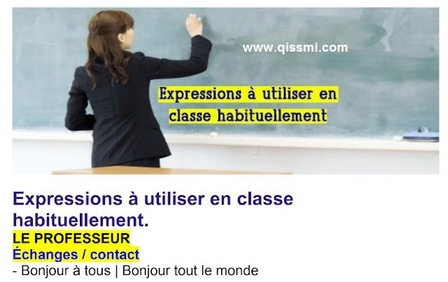 des expression de la classe