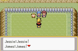 Pokemon Ash Johto para GBA Team Rocket Lema