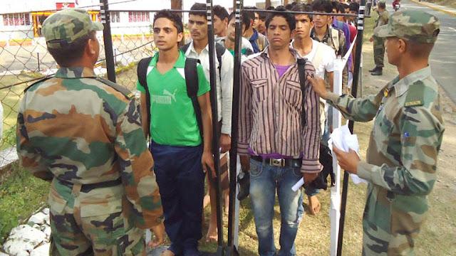 इंडियन आर्मी भर्ती 2020