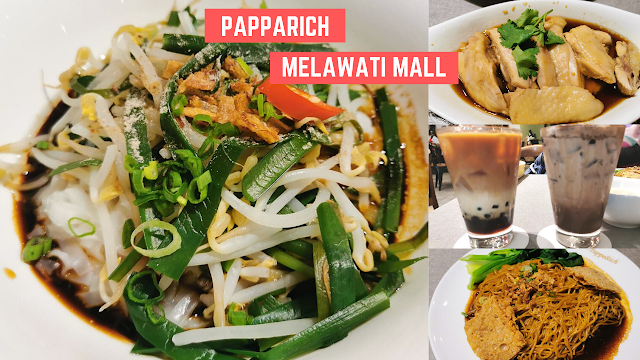 Dinner di Papparich Melawatimall