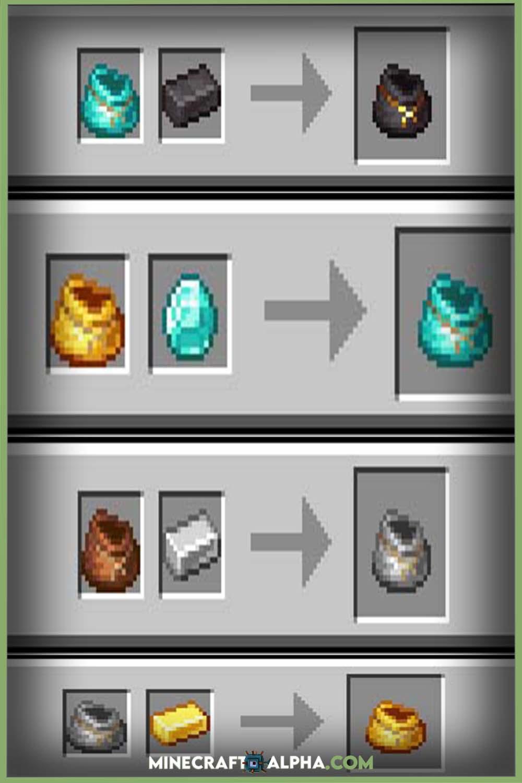 Minecraft Iron Bundles Mod 1.17 (Bundles, Storage)
