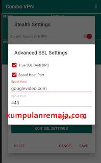 Setting combo VPN