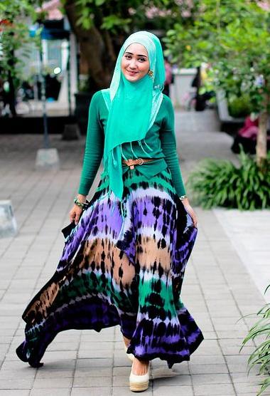 Contoh Baju Muslim Karya Dian Pelangi