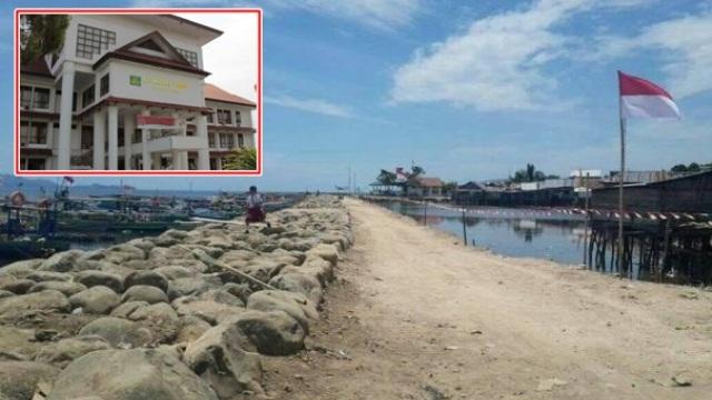Proyek pemecah ombak di Likupang Timur Kabupaten Minahasa Utara