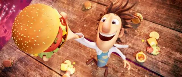Cloudy with a Chance of Meatballs bercerita tentang cover poster Sinopsis Film : Cloudy with a Chance of Meatballs (2009)