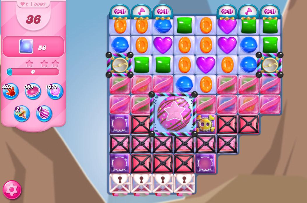 Candy Crush Saga level 8807