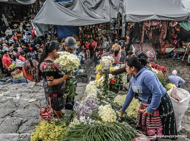 Bate e volta de Antigua Guatemala ao Mercado de Chichicastenango