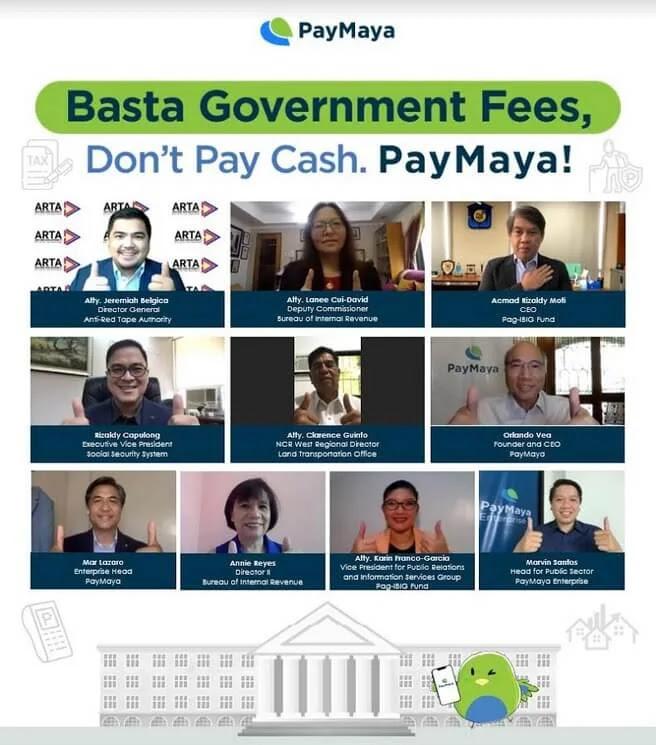 PayMaya Partners With More Government Agencies to Enable Cashless Payments For Their Services