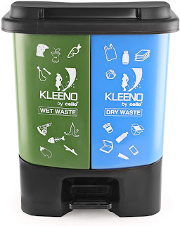 Cello wet and dry dustbin for home