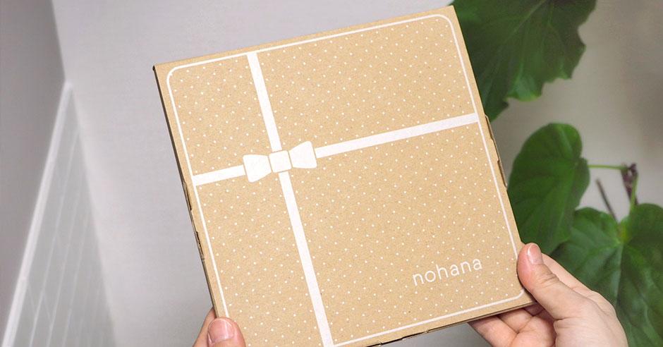 ノハナのギフト包装