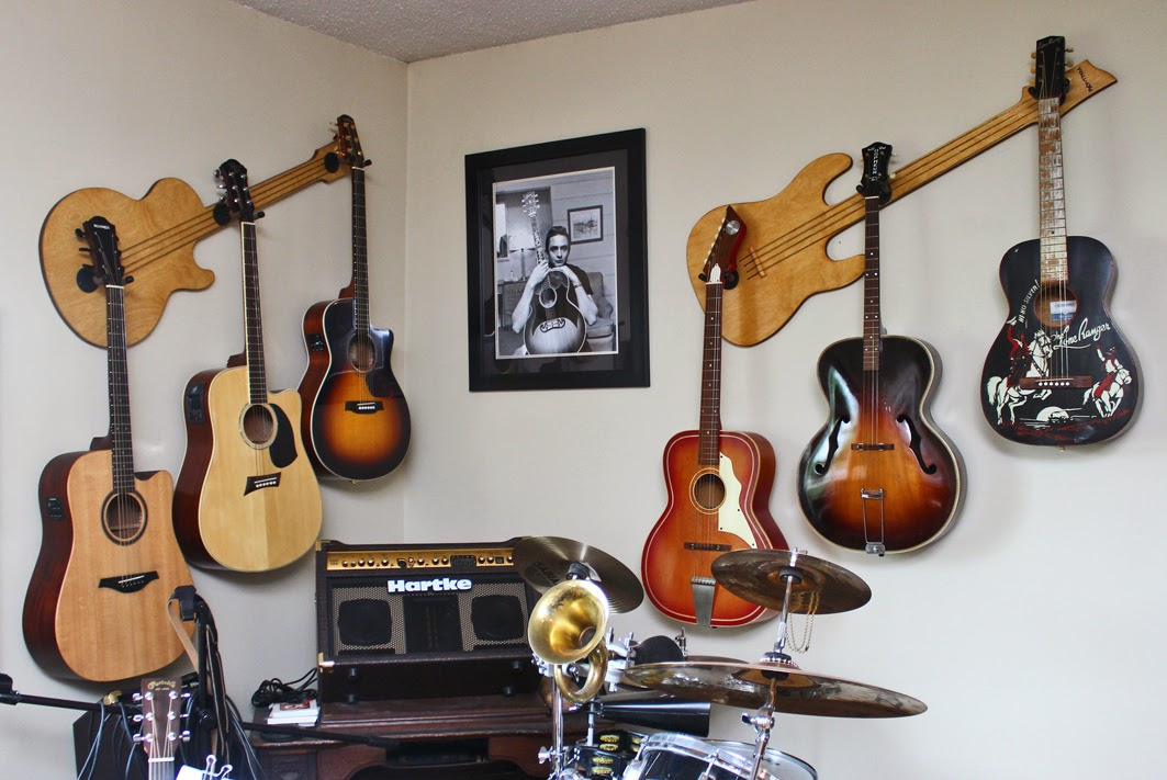 Wall-Axe Custom Guitar Hangers