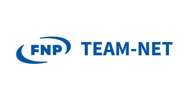 Logo konkursu TEAM-NET od Fundacji na rzecz Nauki Polskiej