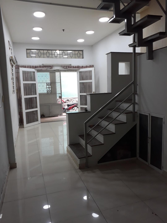 Bán nhà hẻm 231 Dương Bá Trạc phường 1 Quận 8. DT 3,5x12m (nở hậu 3,7m)
