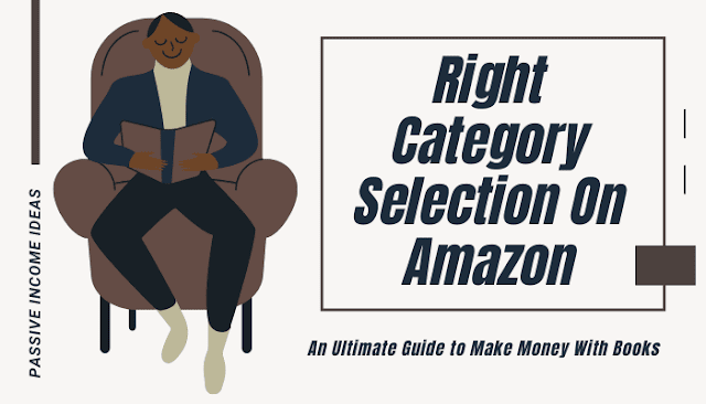 Kindle Amazon book right categories selection