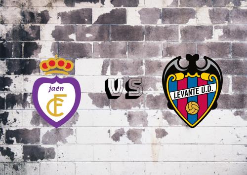 Real Jaén vs Levante  Resumen
