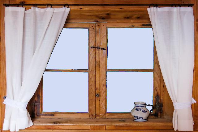 Распечатки: окна для кукольного домика