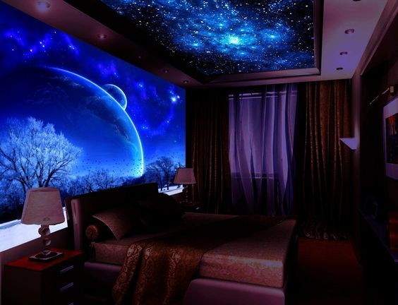 Glow In The Dark Wall Murals Wallpaper For Home Walls