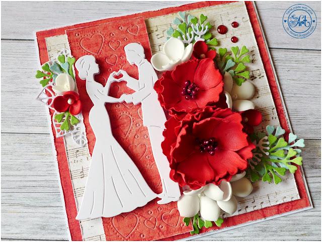 Ślubna karteczka / Wedding card – DT Craft Passion
