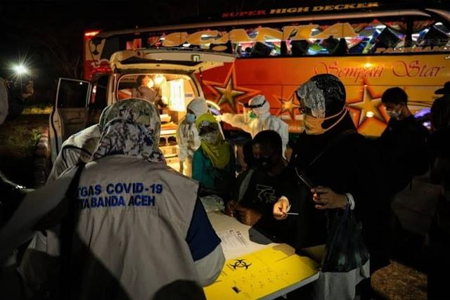 Jelang Lebaran Penumpang di Terminal Tipe A Banda Aceh Melonjak Drastis