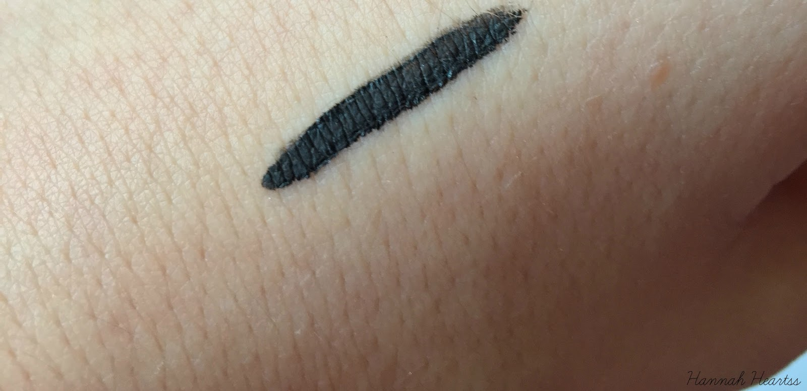NV Colour Black Cat Eyeliner Swatch