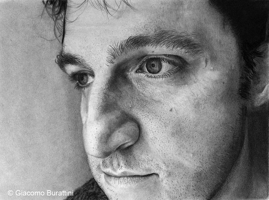 12-Self-Portrait-Giacomo-Burattini-Pencils-and-Charcoal-Portraits-of-Interesting-People-www-designstack-co