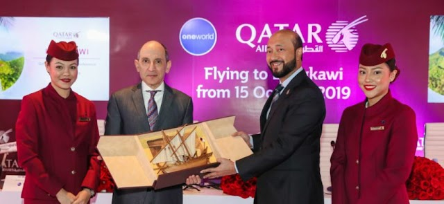 Qatar Airways mula penerbangan dari Doha ke Langkawi