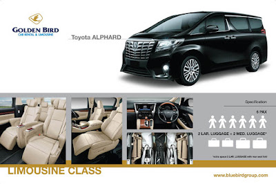 Sewa Alphard Blue Bird