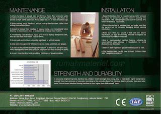 Pemasangan dan Perawatan Solid Bamboo Flooring GBAMBOO
