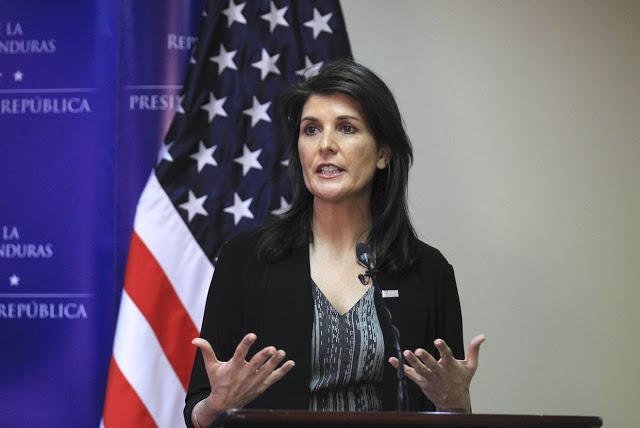 Nikki Haley: EE UU está preocupado por la dictadura en Venezuela
