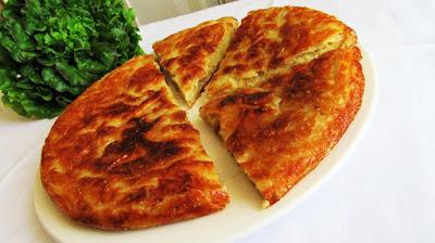 Brza pita krumpiruša u tavi / Quick and easy potato pie pan fried