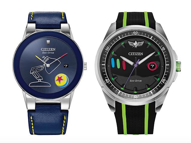 Pixar Fest Luxo Ball Watch and Buzz Lightyear Citizen Watch