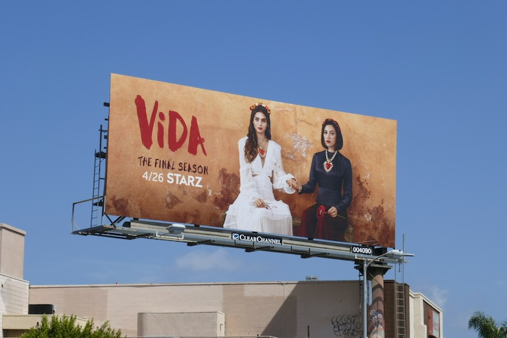 Vida season 3 billboard