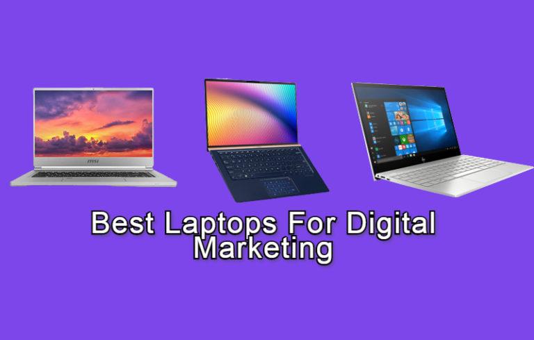 laptops for digital marketer