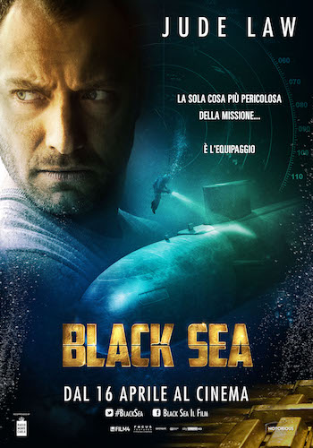 Black Sea 2014 BRRip 480p Dual Audio Hindi 300MB