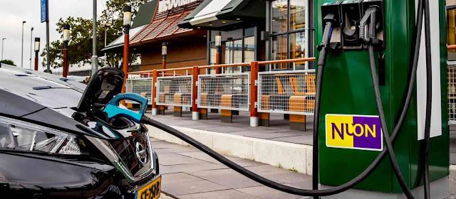 Semi-public charging points- Mc-Donalds