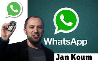 Jan Koum dan Brian Acton Pendiri Aplikasi WhatsApp Messenger