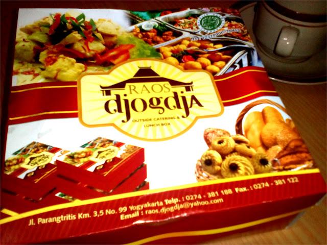 Nasi kotak dan catering Jogja dengan rasa maknyus