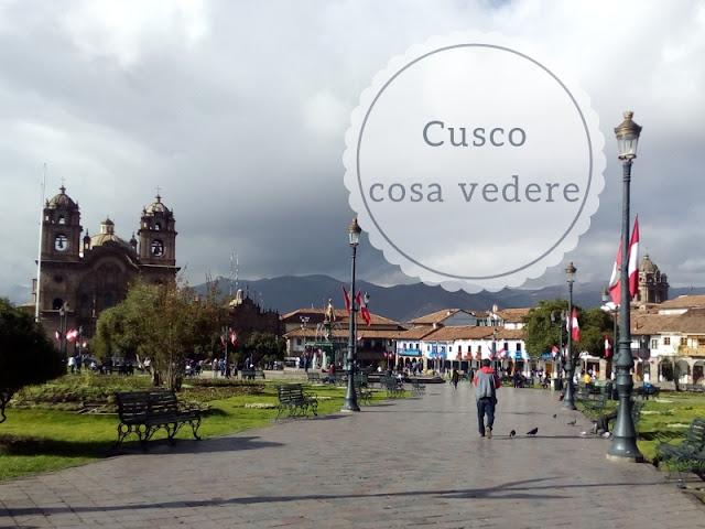 Cosa vedere a Cusco in due o tre giorni: Plaza de Armas