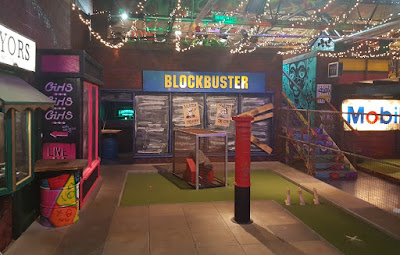 The Blockbuster Video hole at Ghetto Golf in Digbeth, Birmingham