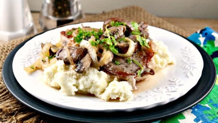 Pork Chops Mushroom Cream Sauce