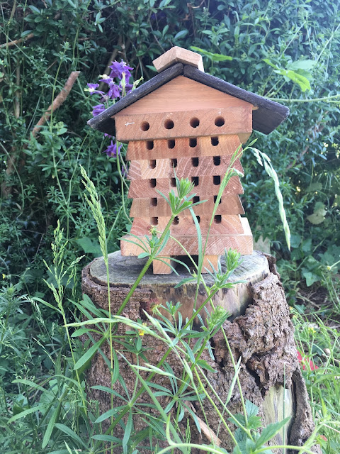 Bee hotel from Notcutts Garden Centre
