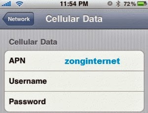 how to open cellular data network on iphone 5