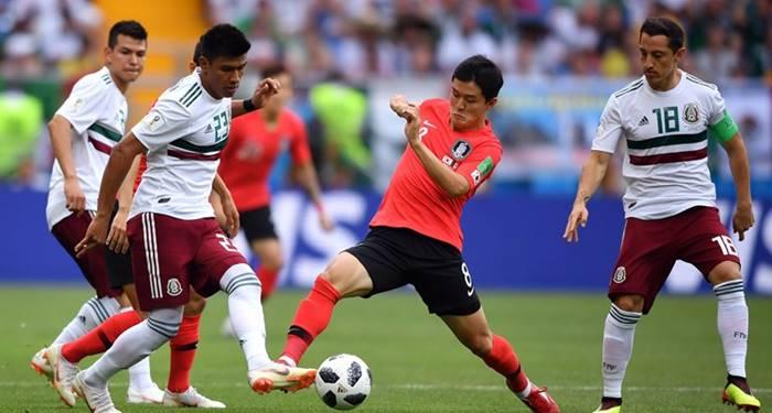 Hasil Pertandingan Korea Selatan vs Meksiko - Piala Dunia 2018