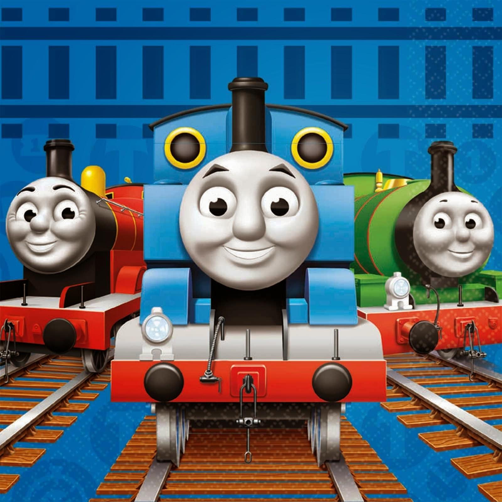 Kumpulan Gambar Thomas The Tank Engine & Friends