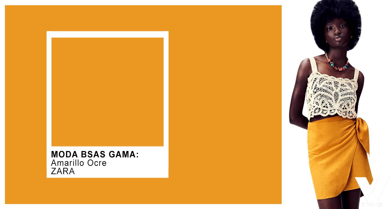 faldas de moda verano 2022 colores