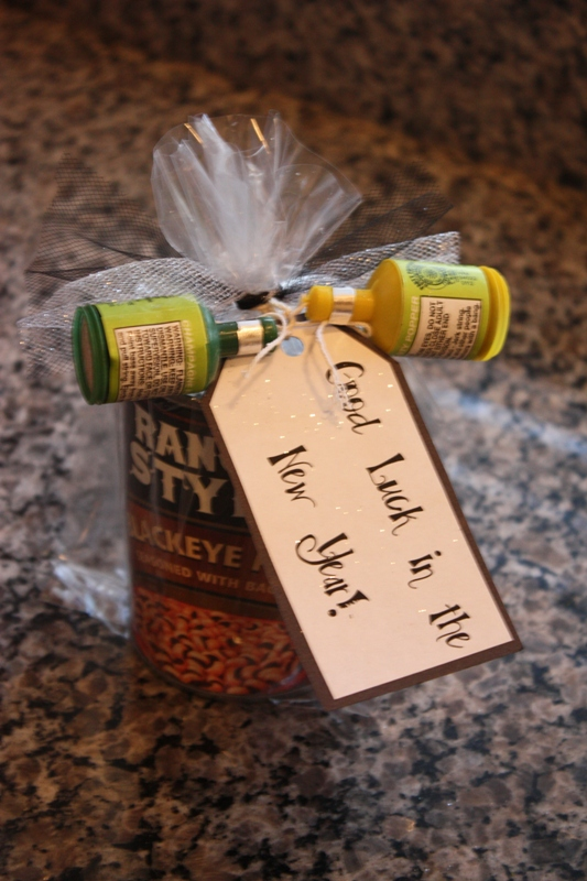 Christy new year 39 s eve black eyed pea good luck gift - Best new year gift ideas ...