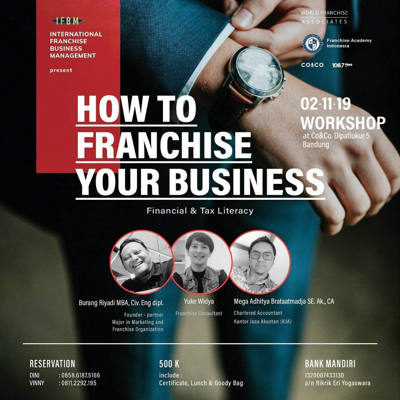 How To Franchise Your Business Co&Co Working Space 2 November 2019