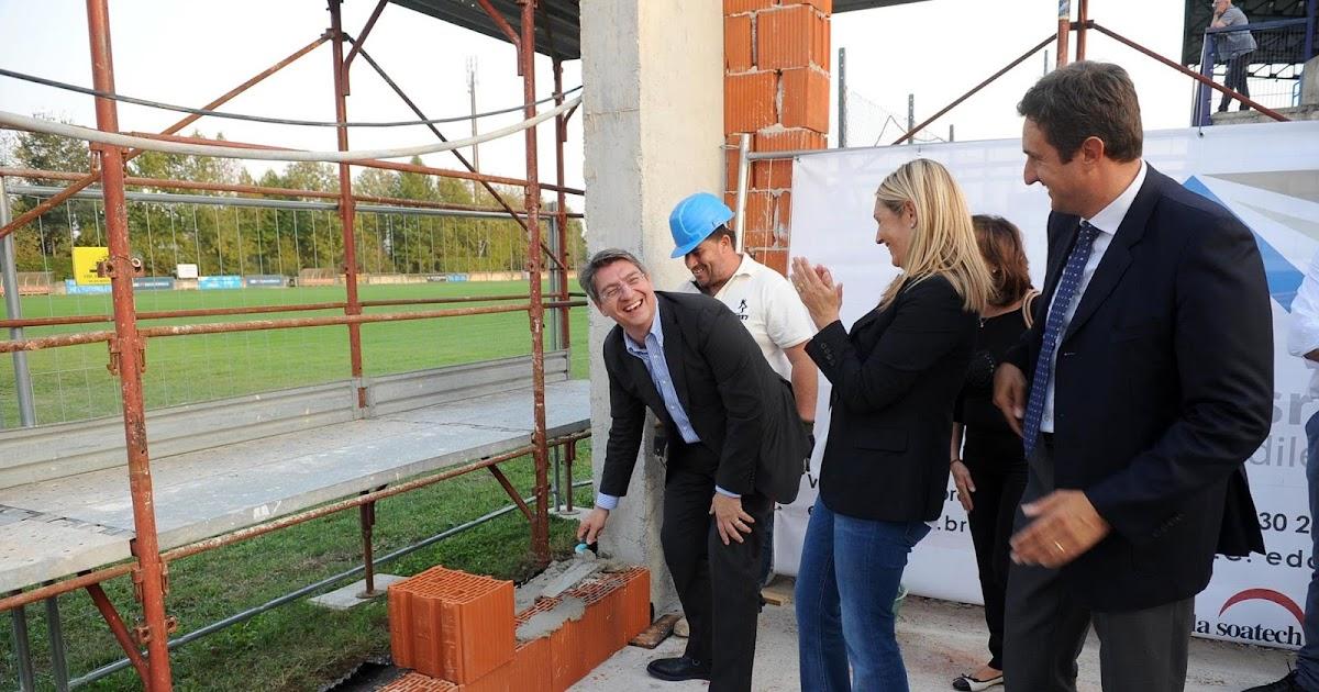 Posa della Prima Pietra della Club House del Rugby Brescia